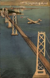 Aerial View of San Francisco-Oakland Bay Bridge