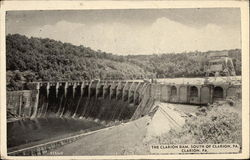 The Clarion Dam, South of Town