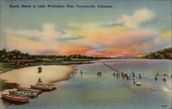 Sandy Beach at Lake Wedington
