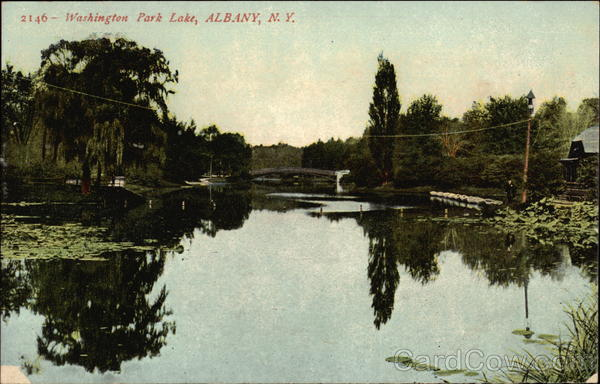 Washington Park Lake Albany New York