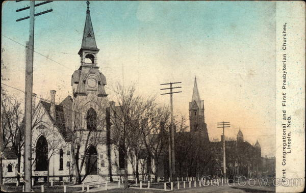 First Congregational and First Presbyterian Churches Lincoln Nebraska