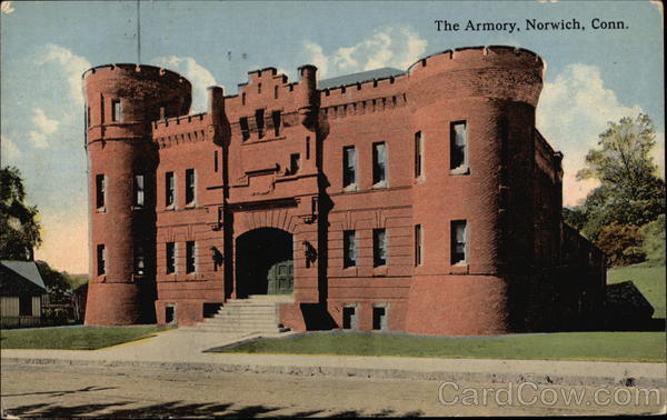 The Armory Norwich Connecticut