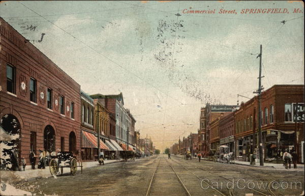 Commercial Street Springfield Missouri