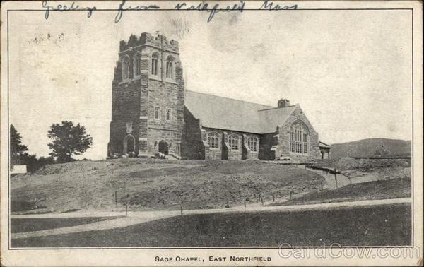 Sage Chapel East Northfield Massachusetts