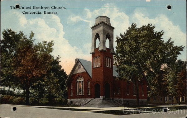The United Brethren Church Concordia Kansas