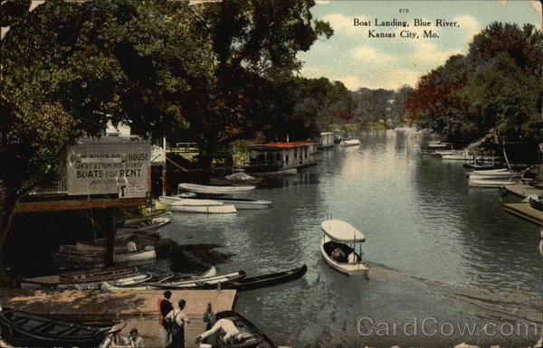 Boat Landing, Blue River Kansas City Missouri