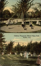 Children's Playground, Mineral Palace Park