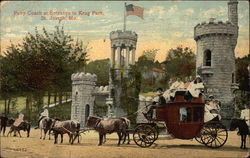 Pony Coach at Entrance to Krug Park
