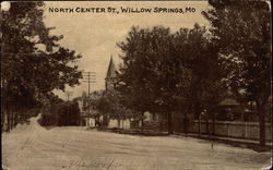 North Center Street Postcard