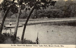 "In the ""Good Old Summer Time,"" Lake Park"