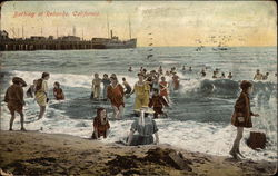 Bathing at Redondo