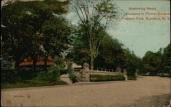 Reviewing Stand, Entrance for Flower Garden at Prospect Park