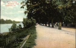 Bay Street, showing Savannah River