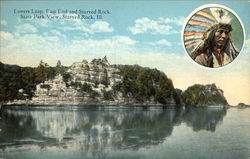 Lovers Leap, East End and Starved Rock, State Park View