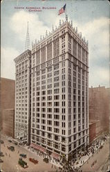 North American Building Postcard