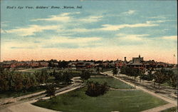 Bird's Eye View, Soldiers' Home Postcard