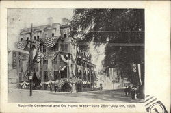 Centennial and Old HOme Week  June 28th July 4th, 1908