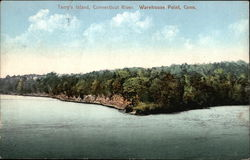 Terry's Island, Connecticut River Postcard