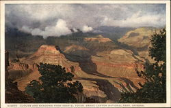 Clouds and Shadows near El Tovar, Grand Canyon National Park