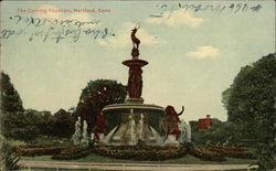 The Corning Fountain Postcard