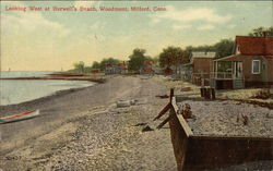 Looking West at Burwell's Beach, Woodmont