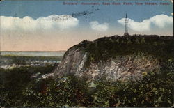 Soldiers' Monument, East Rock Park Postcard