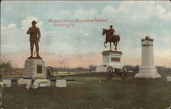 Statues of Generals Reynolds and Buford