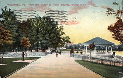 Willow Grove, From the Bridge to Picnic Grounds