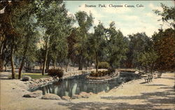 Stratton Park Postcard