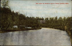 The Lake in Willow Grove Park Postcard