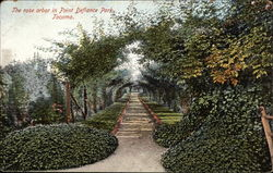 The Rose Arbor in Point Defiance Park
