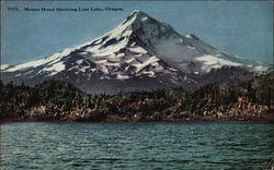 Mount Hood Showing Lost Lake
