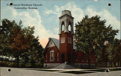 The United Brethren Church Postcard