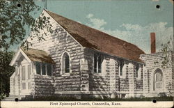 First Episcopal Church Postcard