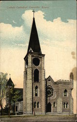 Catholic Cathedral Postcard