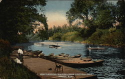 Boat Landing, Soldier Creek, Garfield Park