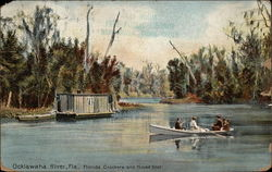 Florida Crackers and House Boat, Ocklawaha River
