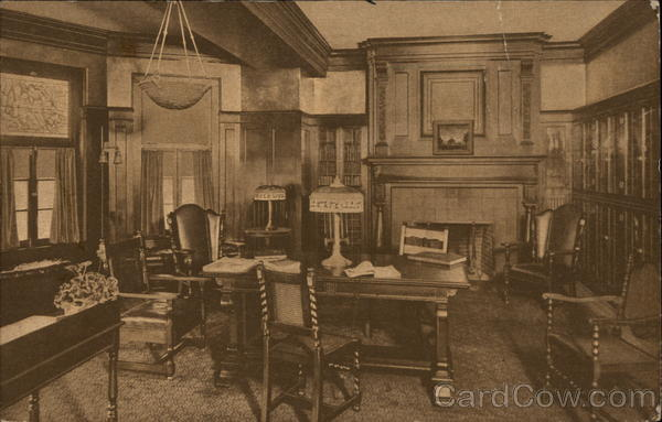 Mary Andrews Clark Home Y.W.C.A. - The Library Los Angeles California