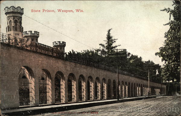 State Prison Waupun Wi