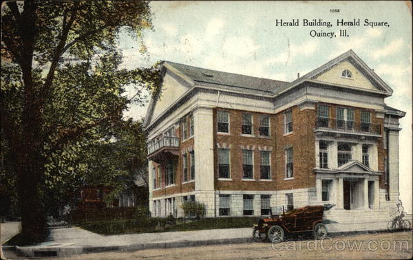 Herald Building, Herald Square Quincy Illinois