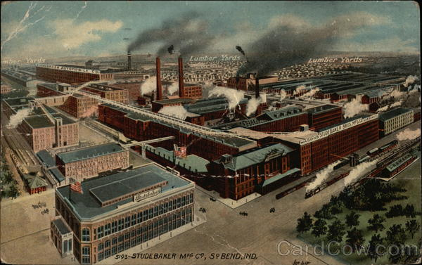 Studebaker Mfg South Bend Indiana
