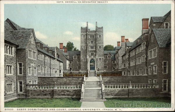 Baker Dormitories and Court at Cornell University Ithaca New York