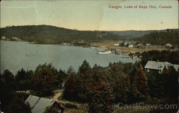 Dwight Lake of Bays Canada Ontario