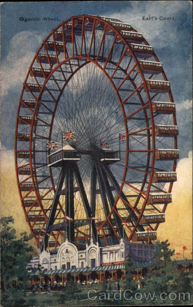 Giant Wheel - Earl's Court London England Amusement Parks