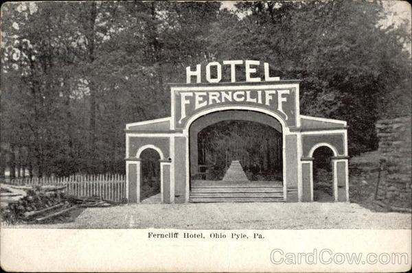 Ferncliff Hotel Ohio Pyle Pennsylvania