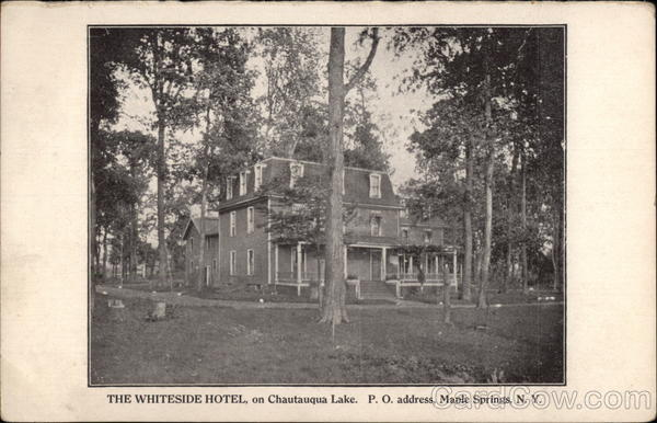 the whiteside hotel maple springs  ny
