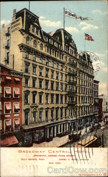 Broadway Central Hotel New York