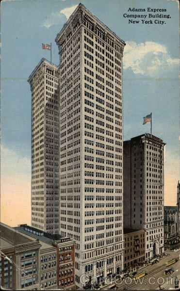 Adams Express Company Building New York