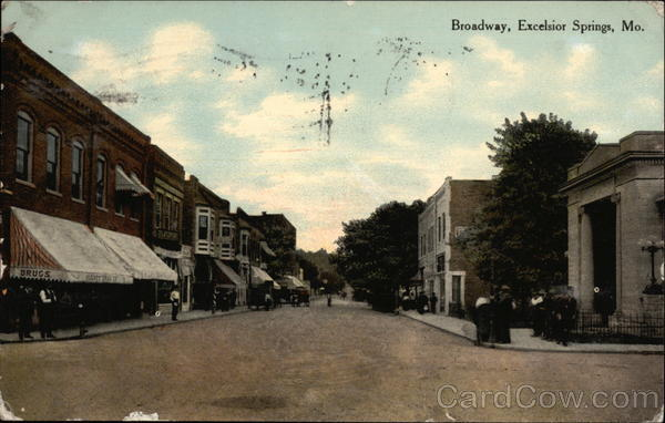 Broadway Excelsior Springs Missouri