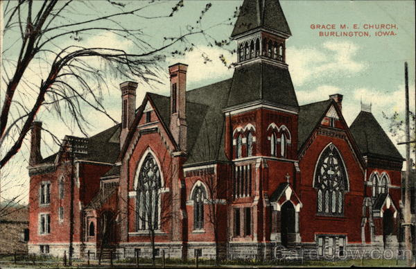 Grace M.E. Church Burlington Iowa